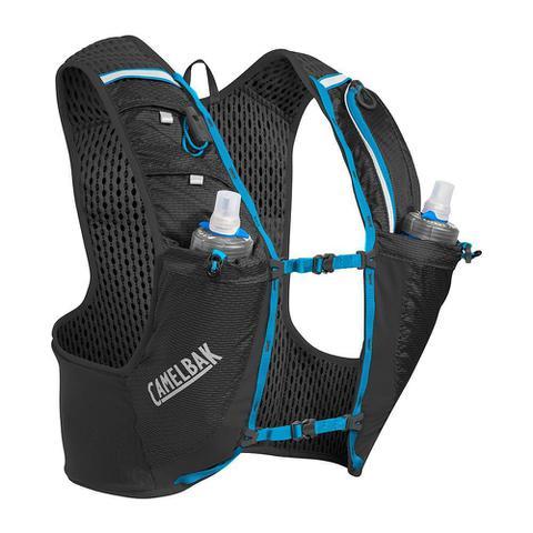 Imagem de Mochila de hidratação CamelBak Ultra PRO Vest 1 litro desenhada para corridas de trail running e corrida em geral