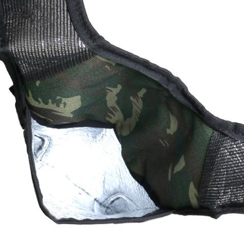 Imagem de Mochila de Hidratação Camuflada Térmica Impermeável C/ Bolsa D' Água 2 Litros
