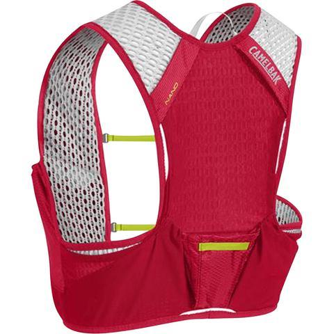 Imagem de Mochila de Hidratação Nano Vest S CamelBak Vermelho para Ciclismo + 2 garrafas