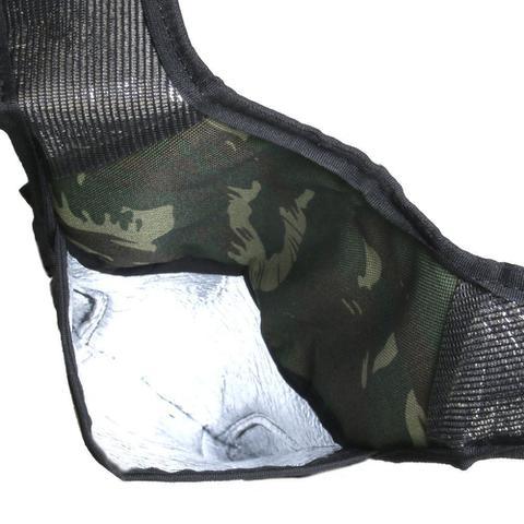 Imagem de Mochila de Hidratação Térmica Impermeável C/ Bolsa D' Água 2 Litros Camuflada