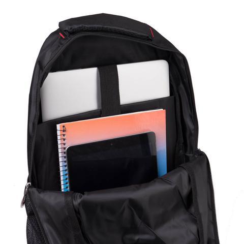Imagem de Mochila Executiva p/ Notebook Fuji, 3 Compartimentos - Preta