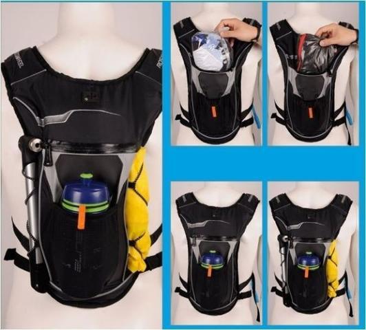 Imagem de Mochila Hidratação Térmica Bolsa D' Água 2 Litros Bike JWS