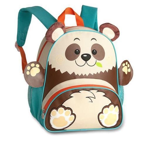 Imagem de Mochila Infantil Animais Zoo Clio Pets - Panda