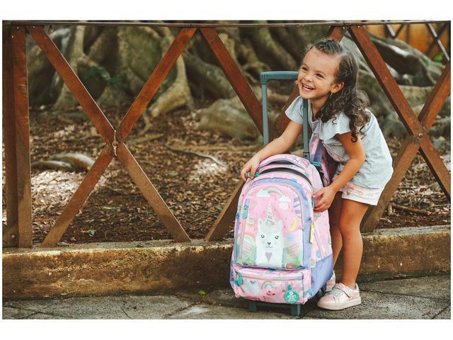Imagem de Mochila Infantil Escolar Feminina de Rodinha
