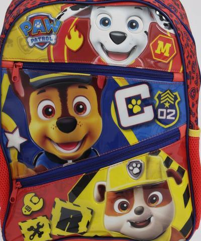 Imagem de Mochila Infantil Escolar Rodinha Patrulha Canina Xeryus