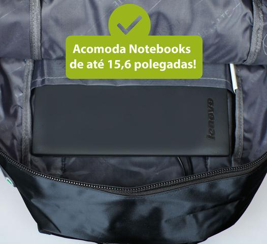 Imagem de Mochila Notebook para Dell Hp Macbook Apple Reforçada Impermeável