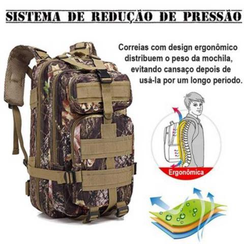 Imagem de Mochila Tática Multiuso Escolar Cargueira 30 Litros Camping  929-J - Lorben