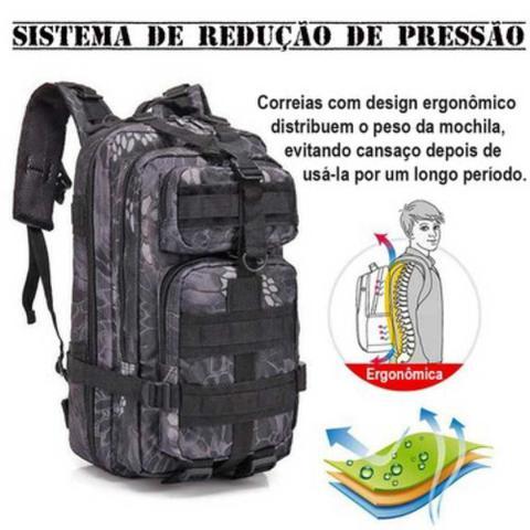 Imagem de Mochila Tática Multiuso Escolar Cargueira 30 Litros Camping  929-L - Lorben