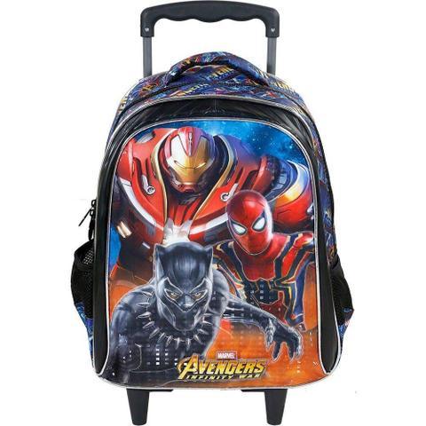 Imagem de Mochilete Avengers Armored homem de ferro, homem aranha e pantera negra G Xeryus- 7490
