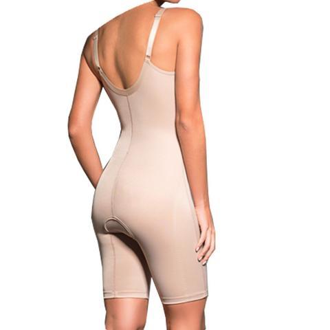Imagem de Modelador Bermuda Cinta Abertura Frontal Feminino Pós Cirurgico Cinta Moderna 432