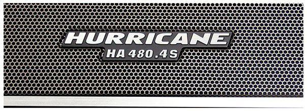 Imagem de Módulo Amplificador Hurricane HA 480.4S 1920W RMS 4 Canais 2 Ohms RCA