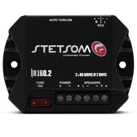 Imagem de Módulo Amplificador Stetsom Iron Line IR160.2 160W RMS 2 Canais 2 Ohms Digital