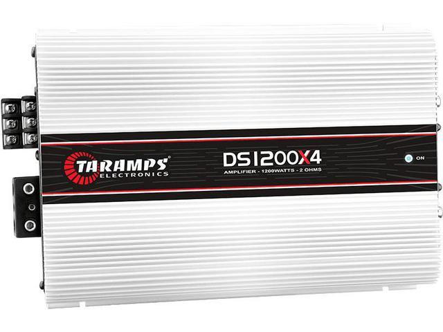 Imagem de Módulo Amplificador Taramps DS 1200x4 1200W RMS 2 Ohms - 4 Canais