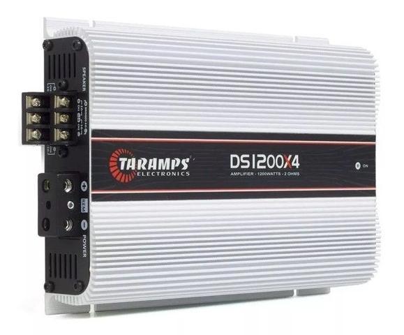 Imagem de Módulo Amplificador Taramps Ds1200 X4 Canais Rca Ds-1200 Rms