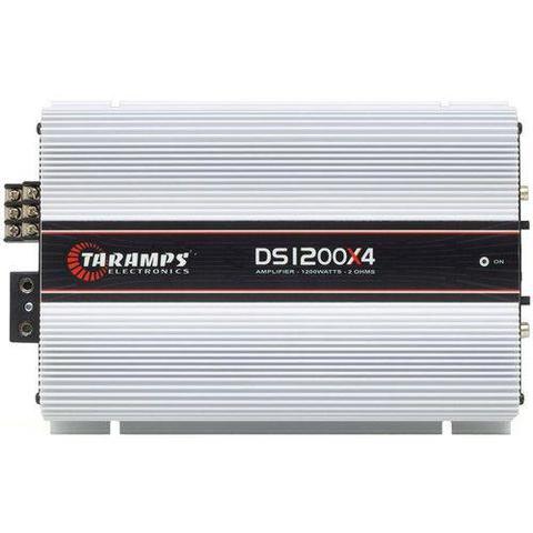 Imagem de Módulo Amplificador Taramps DS1200x4 1200W RMS 4 Canais 2 Ohms RCA Classe D