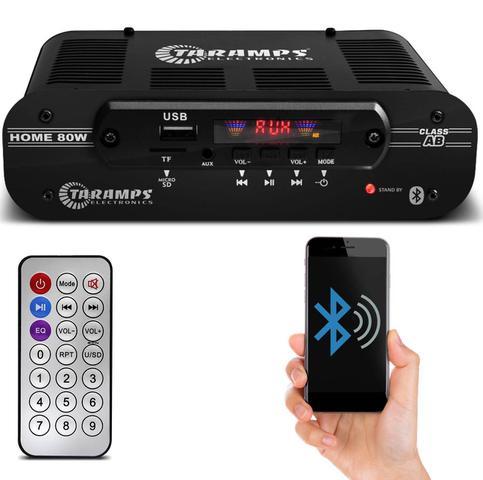Imagem de Módulo Amplificador Taramps Home 80 80W RMS 4 Canais 4 Ohms Stereo Classe AB