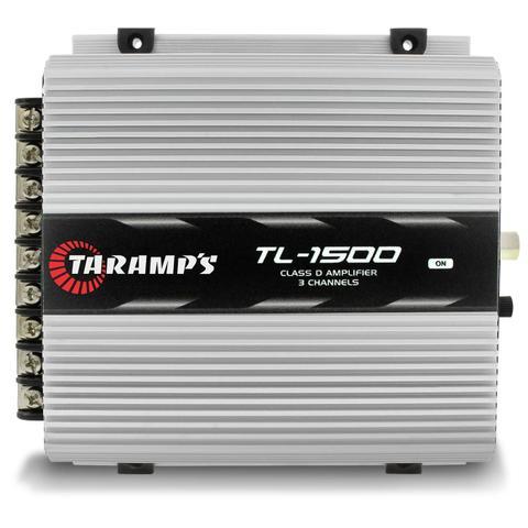 Imagem de Módulo Amplificador Taramps TL 1500 Class D Amplifier 390W RMS 3 Canais 2 Ohms + Cabo RCA 4mm 5m