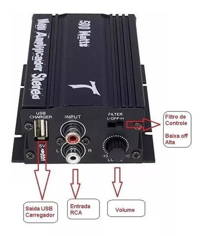 Imagem de Módulo Amplificador Technoise 500w HZ - 021018 Mini