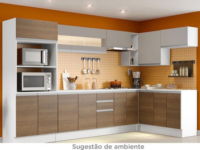 Imagem de Módulo de Armário Aéreo Madesa Smart 3 Portas
