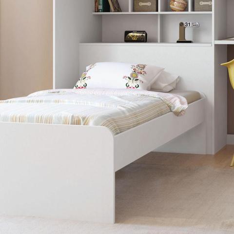Imagem de Módulo Office New com Cama Juvenil Branco