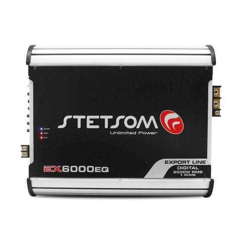 Imagem de Módulo Stetsom EX6000 6000W RMS 1 Canal 1 Ohm Amplificador Digital Som Automotivo