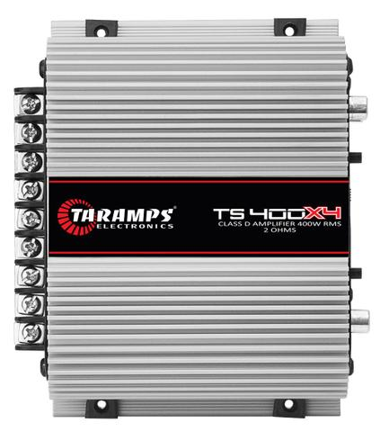 Imagem de Módulo Taramps 400 w RMS Ts 400x4 Amplificador Som Automotivo 4 Canais