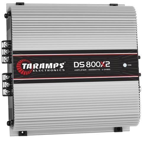 Imagem de Módulo Taramps Ds 800x2 2 Ohms 800w Amplificador Automotivo