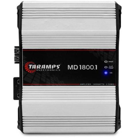 Imagem de Módulo Taramps Md 1800.1 1800W Amplificador 4 OHMS
