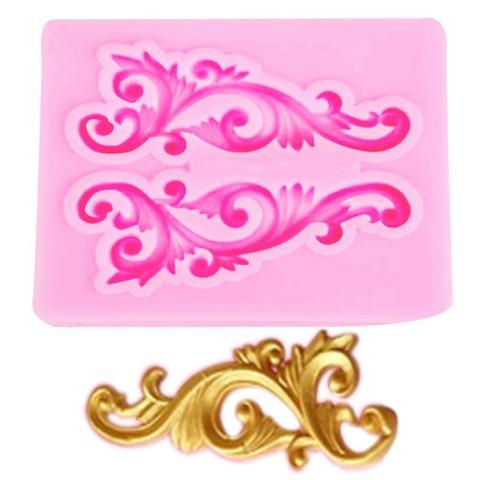 Imagem de Molde de silicone arabesco para decorar f52