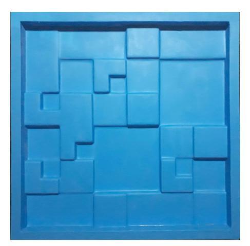 Imagem de Molde Silicone Para Placas De Gesso 3d - Mosaico Liso 29x29