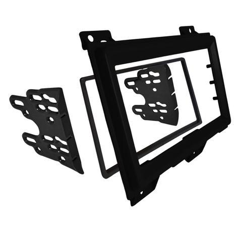 Imagem de Moldura Painel Duster Expression 2DIN Preto Autoplast