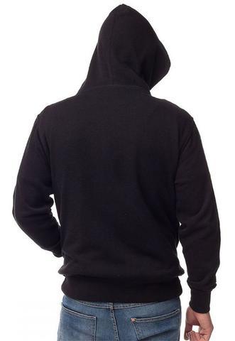 Imagem de Moletom BTS Masculino com Capuz Bolso Canguru Blusão estampado preto