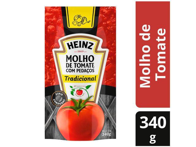 Imagem de Molho de Tomate Tradicional Heinz 340g