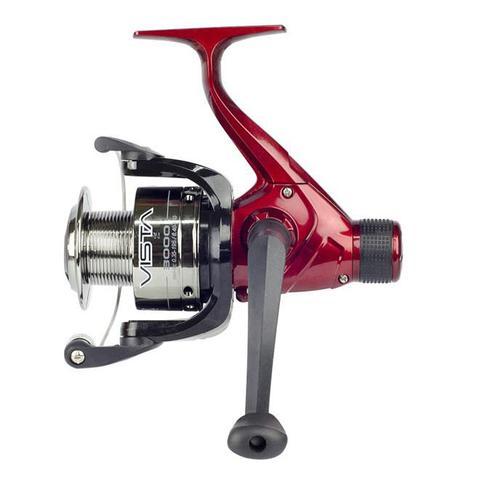 Imagem de Molinete Para Pesca Neo Plus Vista 3000Ft Fricção Traseira Vermelho