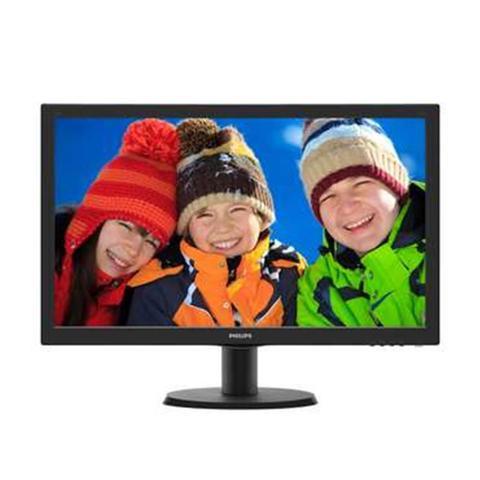 Imagem de Monitor 23,6 LED Philips - HDMI - FULL HD - Multimidia - DVI - Vesa - 243V5QHABA