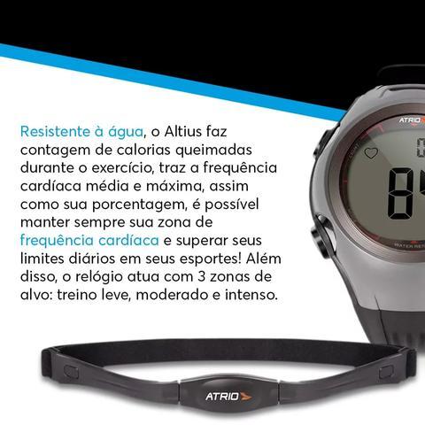 Imagem de Monitor Cardíaco Multilaser Smart Run a Prova Dàgua Preto com Azul - Es050