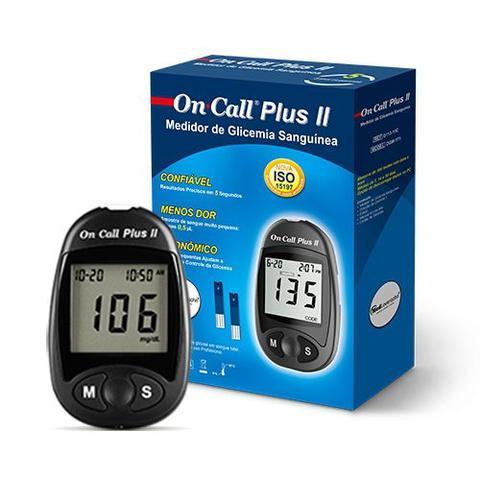 Imagem de Monitor de Glicose Simples - On Call Plus
