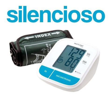 Imagem de Monitor De Pressão Arterial De Braço Automático Portátil Silencioso Multilaser HC206
