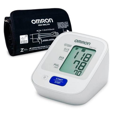 Imagem de Monitor De Pressão Arterial de Braço Omron Hem-7122