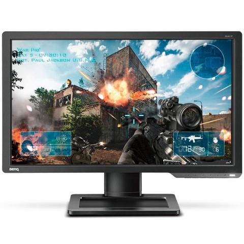 Imagem de Monitor Gamer 24 LED Zowie XL2411P, Full HD, 144Hz, Ajuste de Altura, Preto, DVI, HDMI