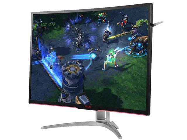 Imagem de Monitor gamer entusiasta aoc ag322fcx/75 31.5