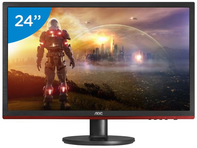 Imagem de Monitor Gamer Full HD AOC LED Widescreen 24""