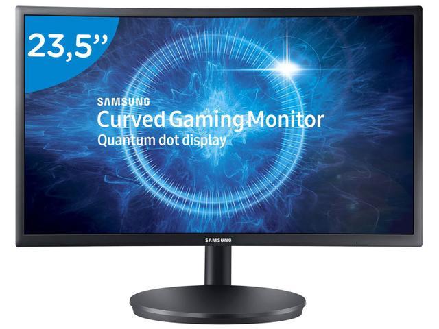 "Imagem de Monitor Gamer Full HD Samsung LED Curvo 23,5"""