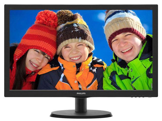 Imagem de Monitor led 21.5 philips 223v5lhsb2 21,5 led 1920 x 1080 full hd widescreen hdmi vga  vesa