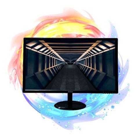 Imagem de Monitor Led 24 Brazilpc M24whxd Fhd 144hz Gamer Preto Widescreen