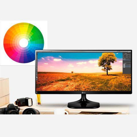 "Imagem de Monitor LG UltraWide 25"" Polegadas 21:9 IPS LED Full HD Gamer 2560x1080p 2x HDMI 25UM58-P"