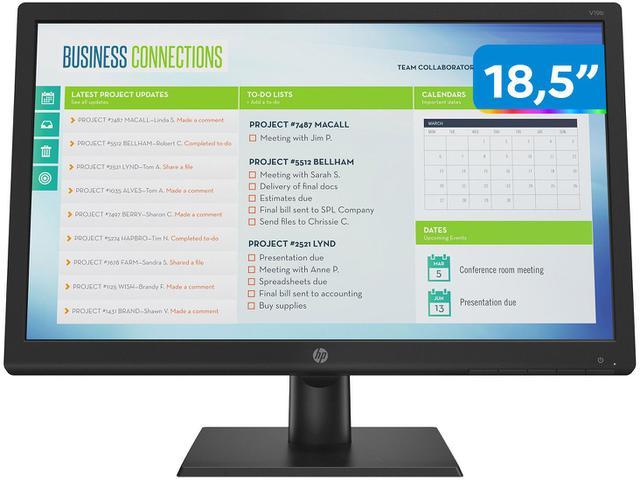 "Imagem de Monitor para PC HP V19B 18,5"" LED TN Widescreen HD"