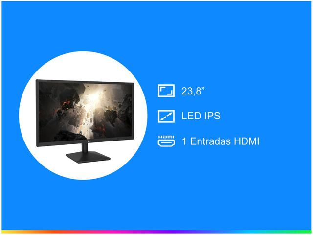 "Imagem de Monitor para PC LG 23,8"" LED Full HD"