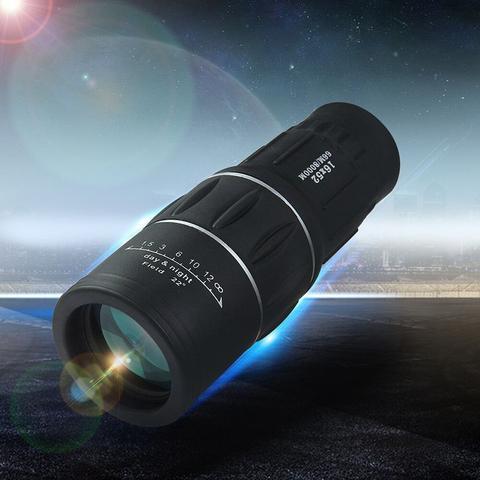 Imagem de Monóculo Tático 16x52 Telescópio Luneta Alcance Zoom Profissional a prova d'agua
