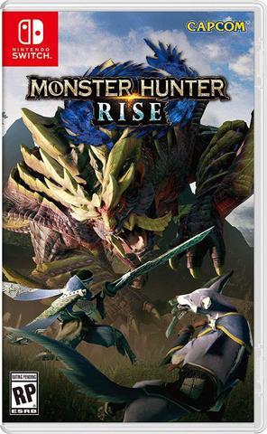 Jogo Monster Hunter Rise - Switch - Capcom